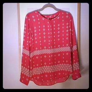GAP women's size small Bright pink blouse